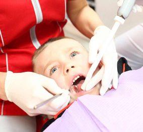 leczenie zębów mlecznych